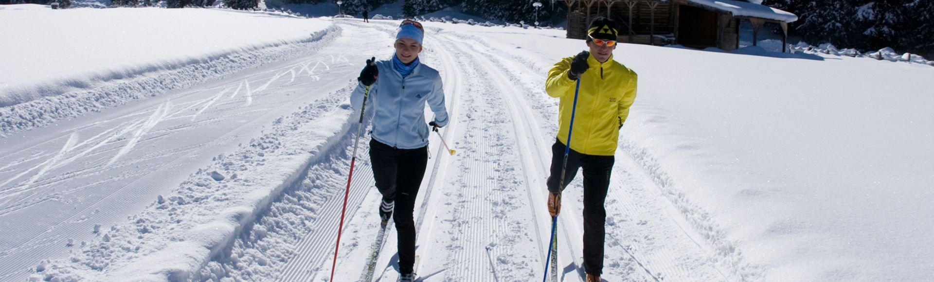 Cross-country skiing and more...
